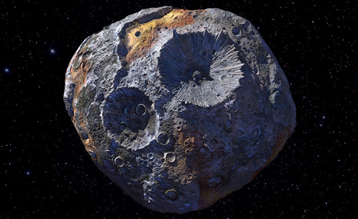 Железный Астероид Может Сделать Нас Миллиардерами