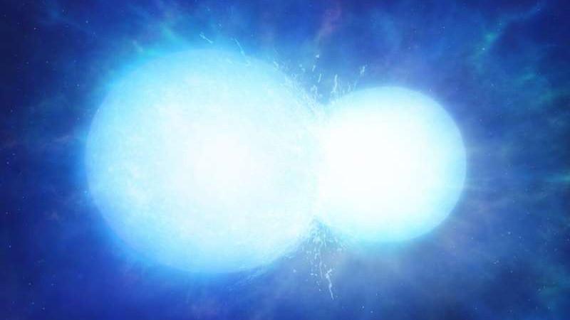 Две Звезды Объединились В Массивного Белого Карлика