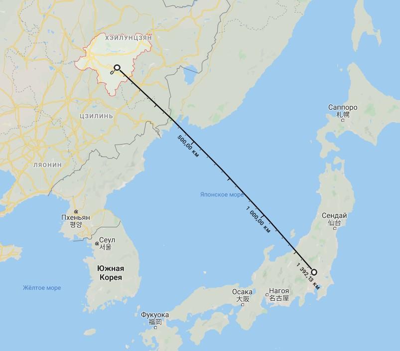 На Японию Пролился Черный Дождь