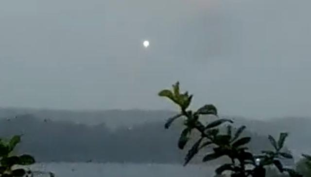 НЛО Над Плимутом, Великобритания