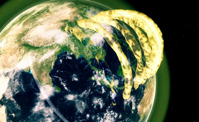 Найдена Причина Странного Распределения Железа Вокруг Земли