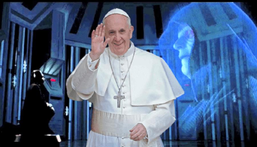 Вместо Папы Франциска Теперь Голограмма?