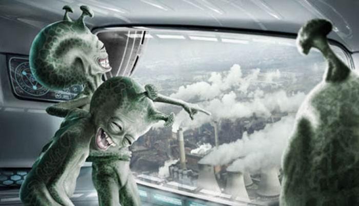 Инопланетяне Наблюдают За Поведенческой Клоакой