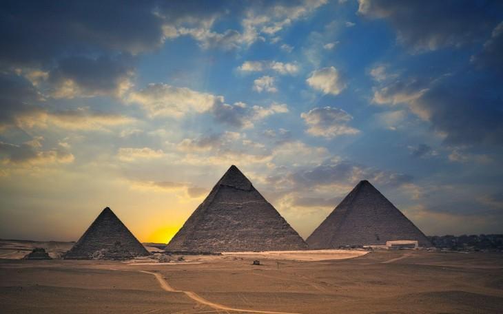 Пирамиды – Космические координаты Богов