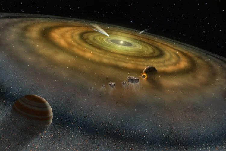 Почему вертится Земля и другие космические объекты?