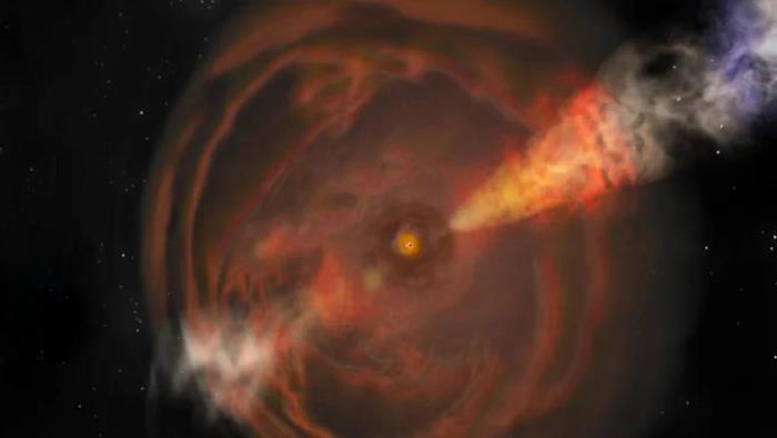 В космосе обнаружены две странные вспышки