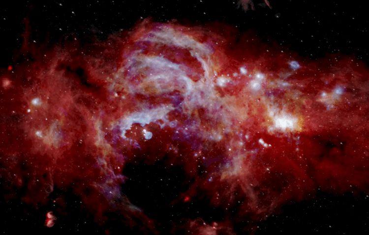 Могут ли сразу две черные дыры вращаться в центре Млечного Пути?