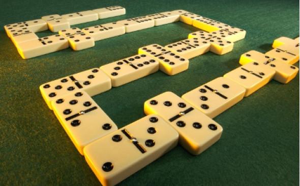 Принцип игры в домино