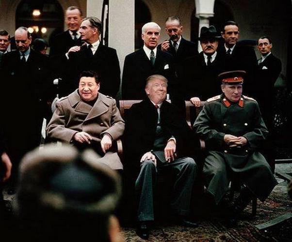 Связка Путин-Трамп и Си
