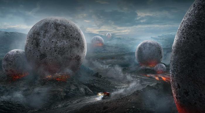 Лавовые планеты породили метеориты