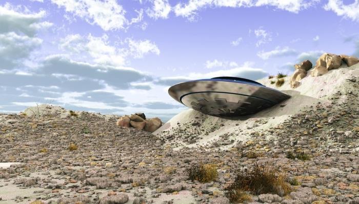 Инженер нашел обломки корабля пришельце