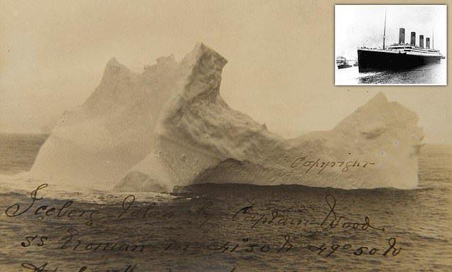 Опубликована фотография айсберга потопившего Титаник