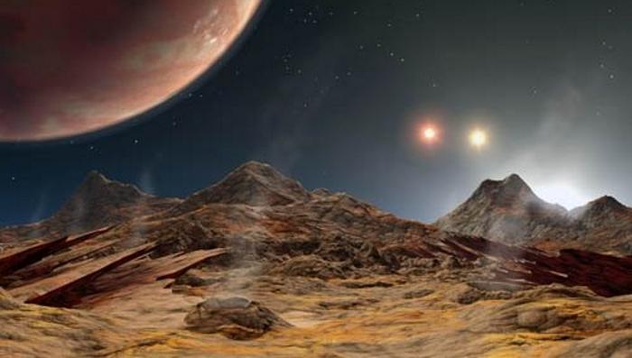 В центре галактики планетам очень тесно