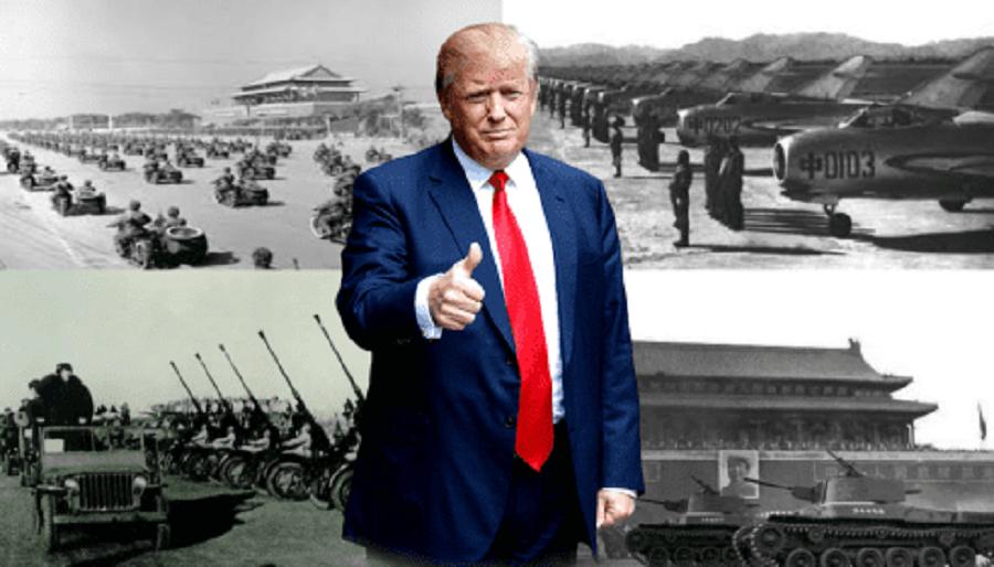 В понедельник, после подписи Трампа, опыт чучхе станет для Китая бесценным