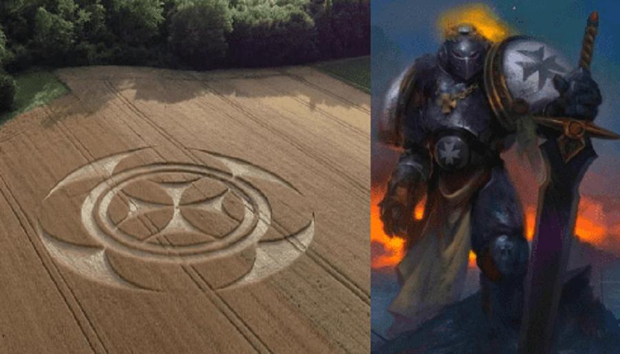 Новые круги на полях намекают, что начинается ЖАТВА?