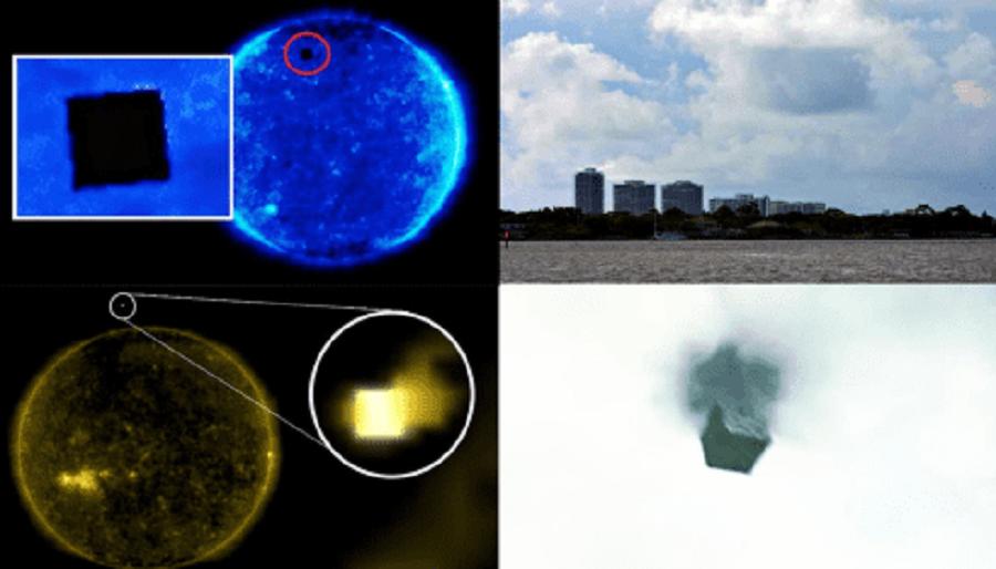 Новое Нашествие Кубических Нло На Земле И Около Солнца