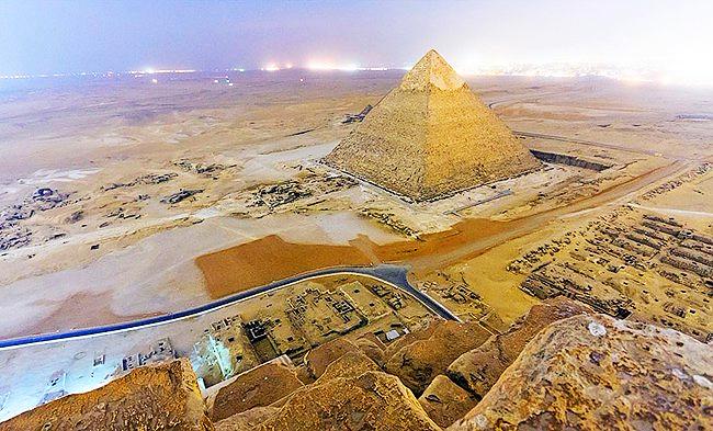 Звездные врата египетского храма Абу-Гораб