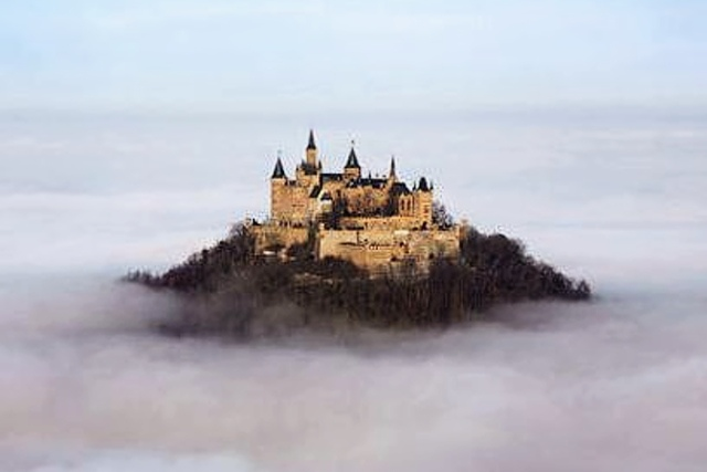 Замок Гогенцоллерн «Замок В Облаках»