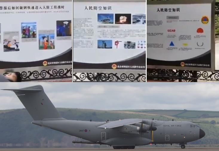 В Китае Впервые С 1960-Х Появились Плакаты Про Атомные Бомбы И Бомбоубежища