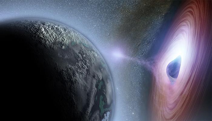 Является ли Планета Икс миниатюрной черной дырой