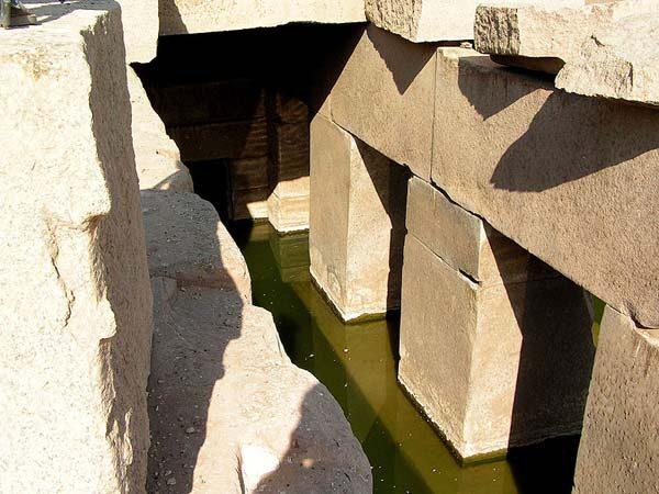 Осирион – Древняя Постройка Из Гигантских Мегалитов