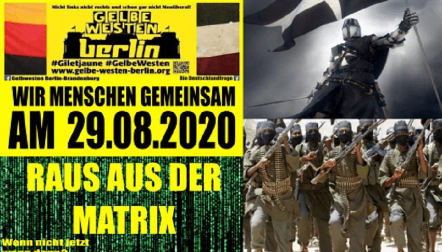 Протесты Против Блокировок В Германии Будут Разгонять Сирийские Эскадроны Смерти?