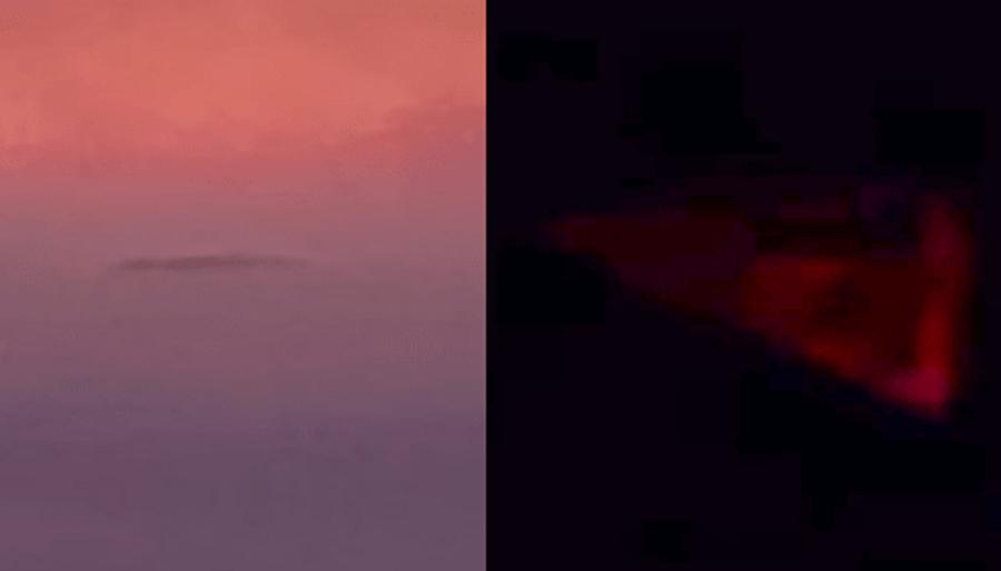Над Америкой Продолжают Летать Гигантские Стержни И Tr-3b