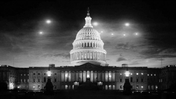 НЛО Над Белым Домом