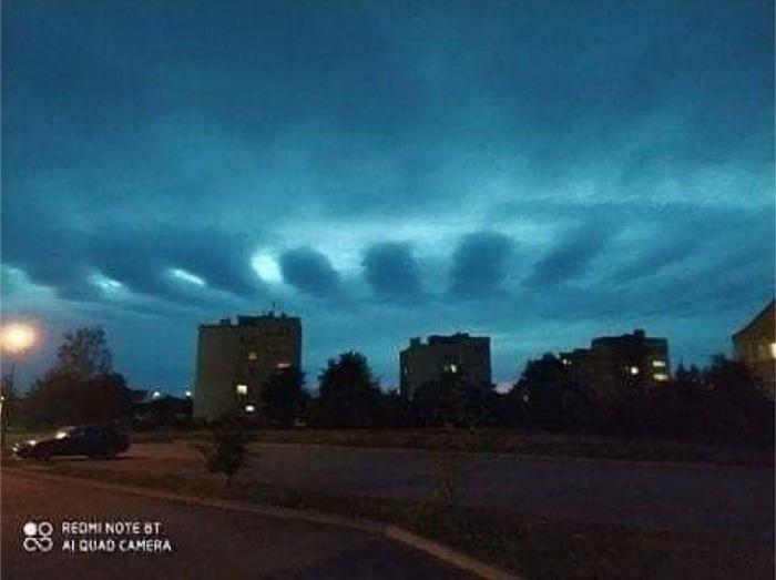 Blue Beam Или НЛО В Небе Над Мексикой