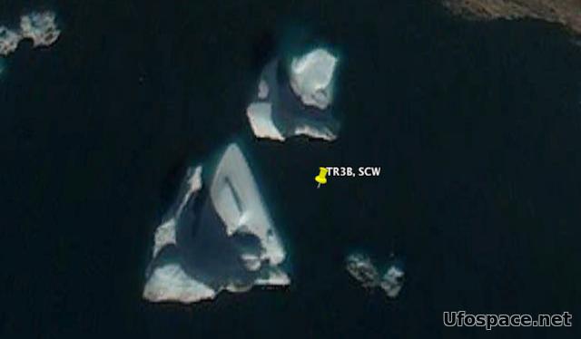 В Тающих Льдах Гренландии Снова Найдено НЛО