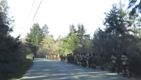 На границе Канады и США замечены китайские войска
