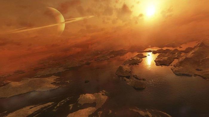 Смесь органики и водяного льда нашли на Титане