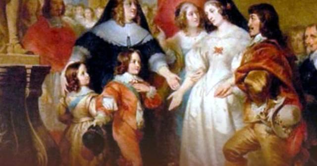 Анна Австрийская и кардинал Мазарини
