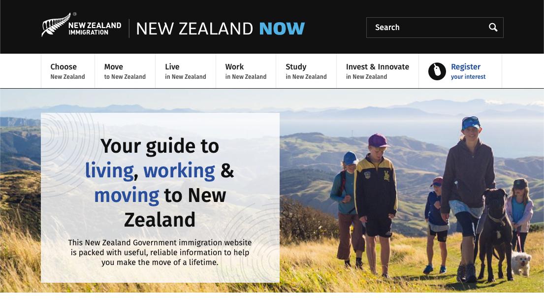 Иммиграционный сайт Новой Зеландии обвалили американцы, пожелавшие срочно убежать из страны
