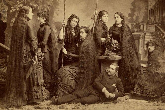 """Семь сестёр Сазерленд и их """"золотые волосы"""""""
