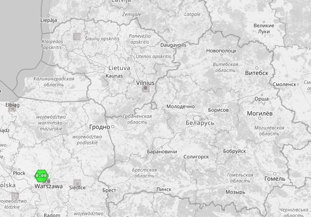 Откуда странный световой факел над Беларусью?