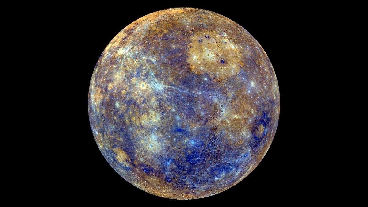На Меркурии так жарко, что там образуется лед