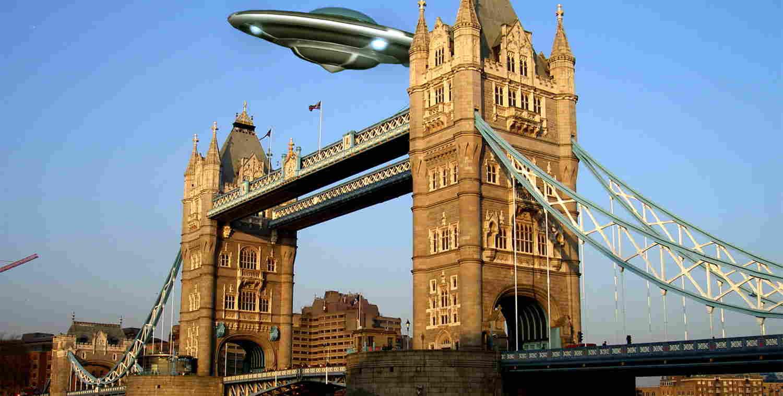НЛО — рапорты английских полицейских