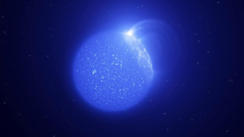 Обнаружена супервспышка на ультрахолодной звезде