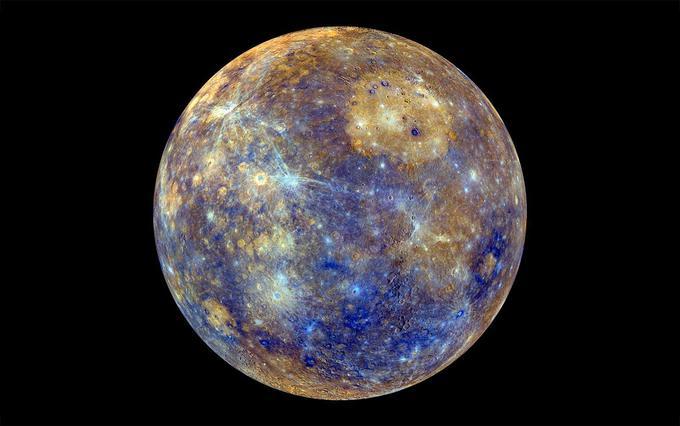 Размеры Меркурия практически не изменились за четыре миллиарда лет
