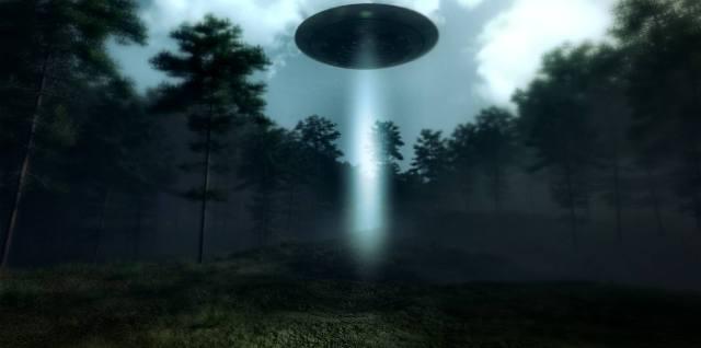 НЛО в лесу Рендлсхэм