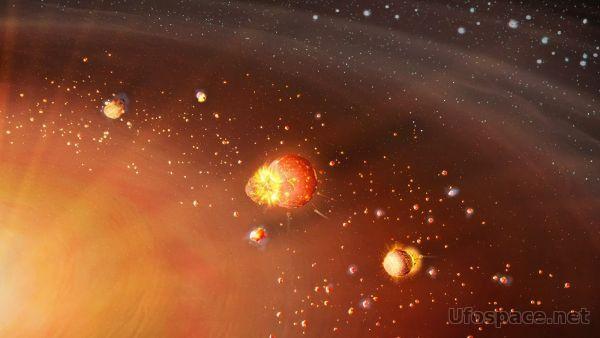 Ученые назвали число этапов формирования Солнечной системы