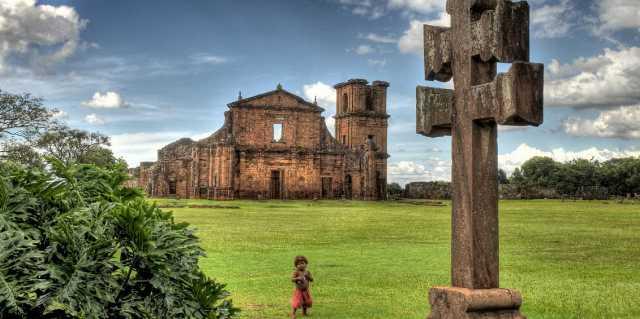 Иезуитские миссии на землях индейцев гуарани