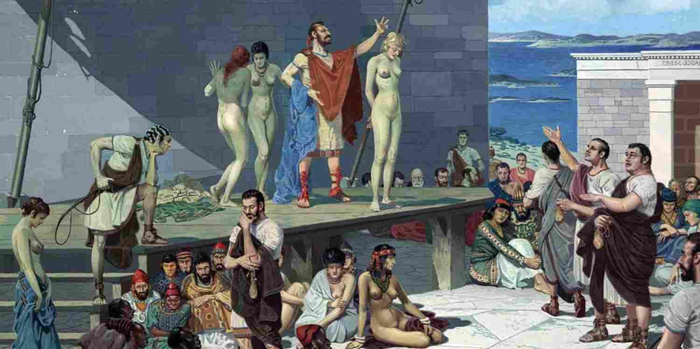 Стоимость рабов в Римской империи