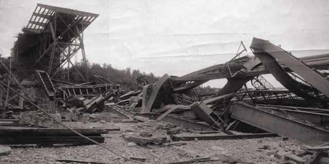 Квебекский мост - двойное обрушение в Канаде