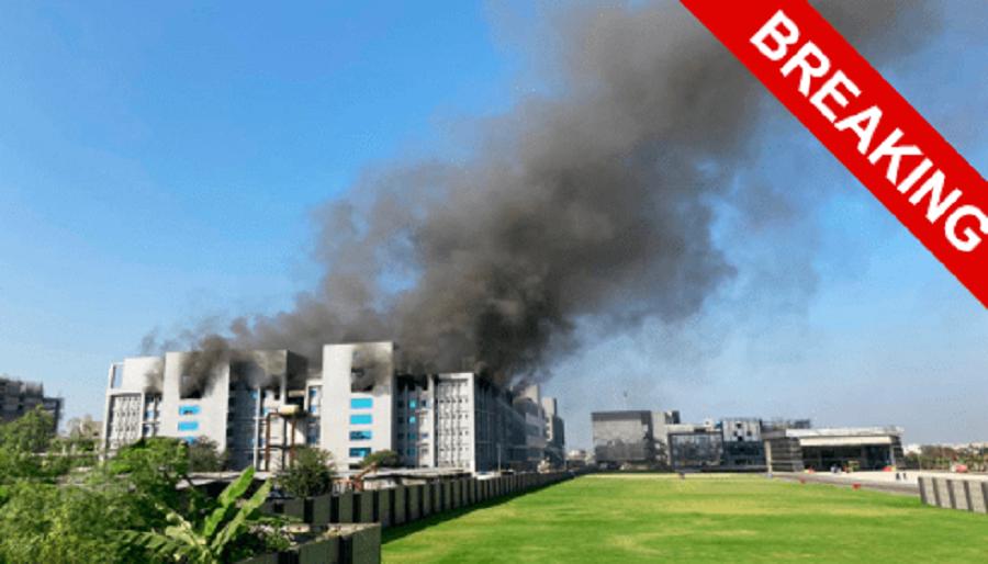 В Индии горит крупнейшая фабрика AstraZeneca. Началась война вакцин?