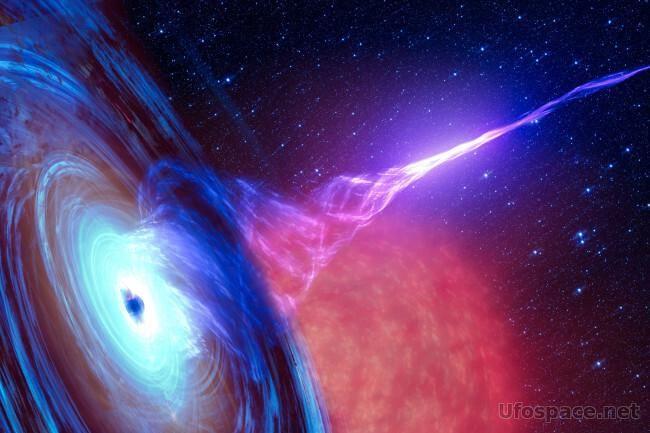Астрофизики придумали способ красть энергию у черных дыр