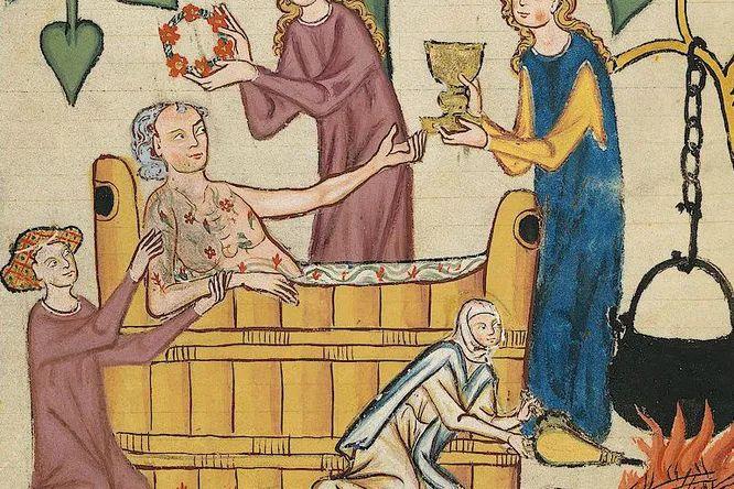 Сколько раз в жизни мылись европейцы в Средние века? И мылись ли вообще