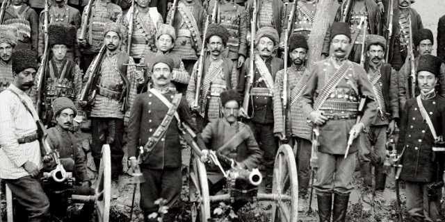 Багадеранский полк - русские дезертиры на службе в Персии