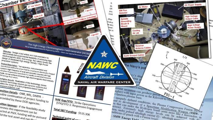 Патенты на НЛО ВМС США